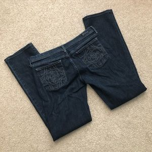 CoH Ava Straight Leg Jeans - Chain Link Stretch